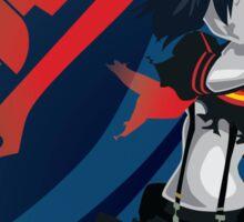 Kill la Kill Ryuko Matoi Simplist Artwork Sticker