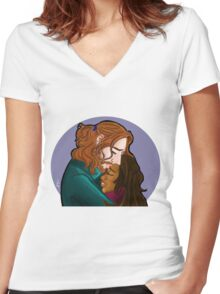 Sleepy Hollow- I forge my fate with you Women's Fitted V-Neck T-Shirt