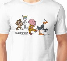 "Karl Pilkington - ""I've always wanted to kick a duck up the arse!"" v2 Unisex T-Shirt"