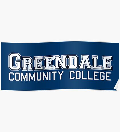 Greendale Community College Poster