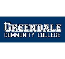 Greendale Community College Photographic Print