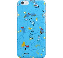 The Many Faces of Genie iPhone Case/Skin