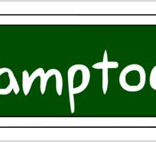 Framptown Sign Sticker