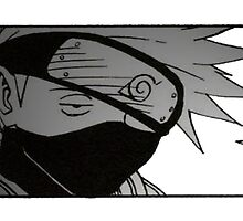 Bored Kakashi by Plateman