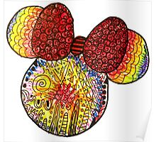 Tie Dye X Minnie Mouse Poster