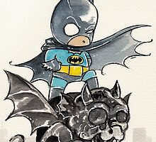 Batman baby by ickhwano