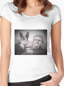 Mary and Lady Women's Fitted Scoop T-Shirt