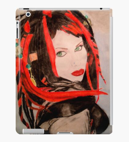 Gothic Beauty iPad Case/Skin