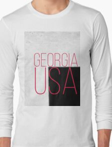 GEORGIA USA Long Sleeve T-Shirt