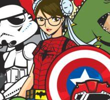 Get Your Geek On! Sticker