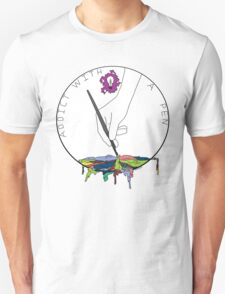 Addict With A Pen Unisex T-Shirt