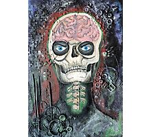 Brain Skull Photographic Print