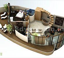 3D Floor Plan USA by 3dwalkthrough