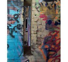 Graffiti: Exploring Inner Space Photographic Print