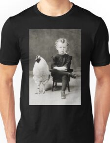 Smoking Child - black/white Unisex T-Shirt