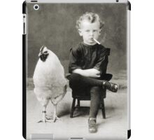 Smoking Child - black/white iPad Case/Skin