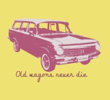 Old wagons never die (EH) Kids Tee