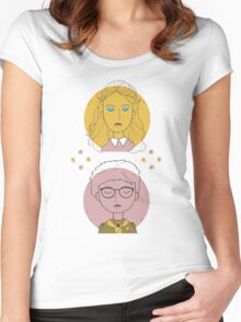 Moonrise Kingdom Kids Women's Fitted Scoop T-Shirt