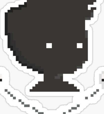 Limbo Boy Pixel  Sticker