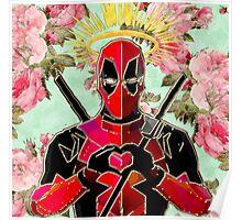 St. Deadpool, Patron Saint of Chimichangas Poster