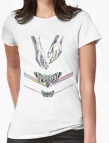 A Handful Of Critters Womens Fitted T-Shirt