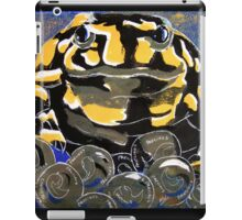Precious - A Corroboree Frog Guarding Eggs by Heather Holland iPad Case/Skin