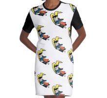 clown doll Graphic T-Shirt Dress