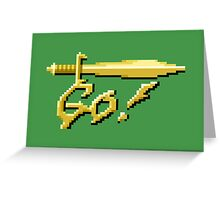 GO! Greeting Card