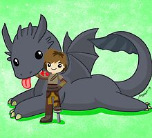 How to Train Your Dragon 2 by mayiying89