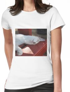 Sleeping Royal  Womens Fitted T-Shirt