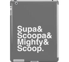 Supa Scoopa Mighty Scoop iPad Case/Skin
