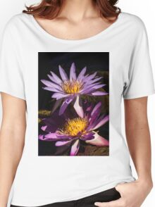 Waterlilies Women's Relaxed Fit T-Shirt