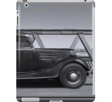 1934 Chevrolet Sedan crossing the motor bridge, Murray Bridge iPad Case/Skin