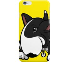 Let's Play English Bull Terrier Black  iPhone Case/Skin