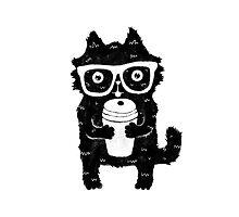 Coffee Cat by kostolom3000