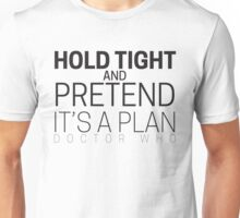 "Doctor Who ""Hold Tight"" Unisex T-Shirt"