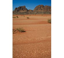 In the deserts of Jordan Photographic Print