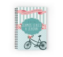 SEAMOS LEALES A JEHOVÁ! (Floral Bicycle) Spiral Notebook