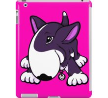 Let's Play English Bull Terrier Purple iPad Case/Skin