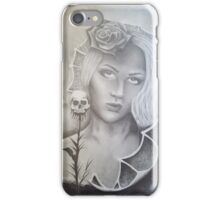 Her dark side  iPhone Case/Skin