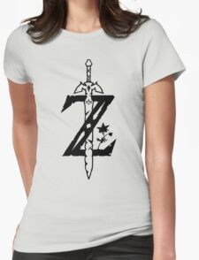The Legend of Zelda Breath of the Wild Womens Fitted T-Shirt