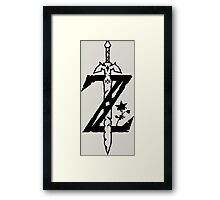The Legend of Zelda Breath of the Wild Framed Print
