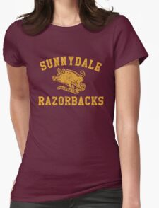 Sunnydale Razorbacks Womens Fitted T-Shirt