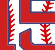 15 Red Sox Pedroia Sticker