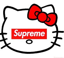 Supreme - Hello Kitty by tyler54