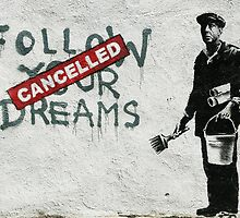 Banksy dreams by Tezwah