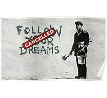 Banksy dreams Poster
