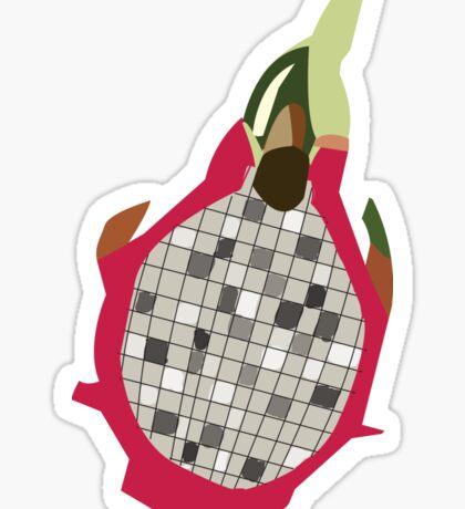 Dragon fruit Sticker
