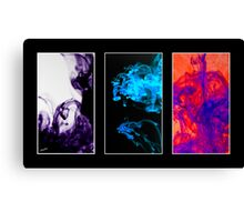 Ink in Water Canvas Print