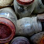 Old Ball Jars by Diane Arndt